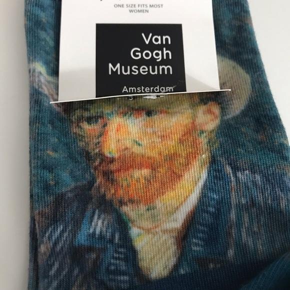 SockSmith Accessories - SOCKSMITH Graphic Crew Van Gogh Ladies Size 9-11